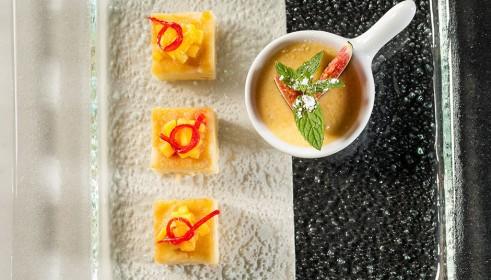 BALLARINI Recipe Cappuccino cream with lemon cake