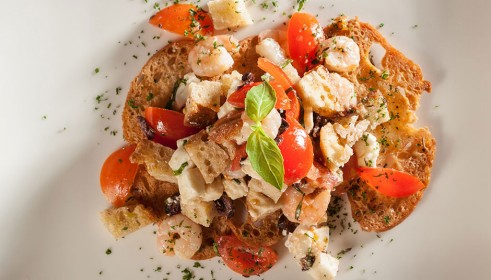 BALLARINI Recipe Italian bread salad