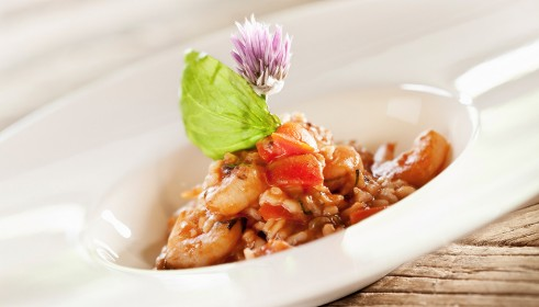 BALLARINI Recipe shrimp tomato risotto