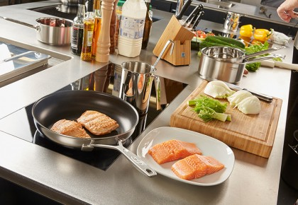 Demeyere industry duraslide ultra frying pans
