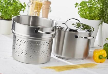 Demeyere specialties making pasta