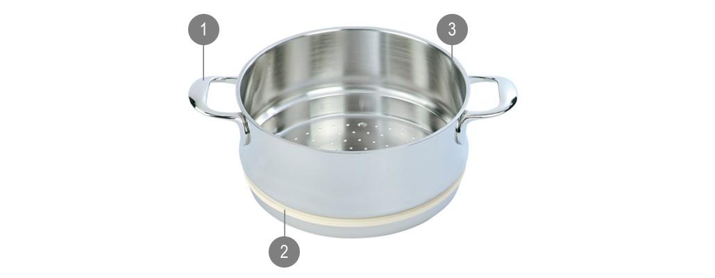 Demeyere Specialties Steaming