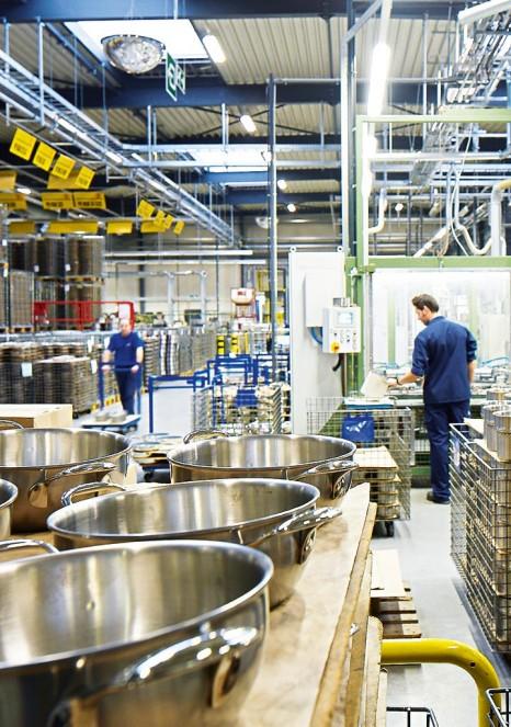 Demeyere usine de Production