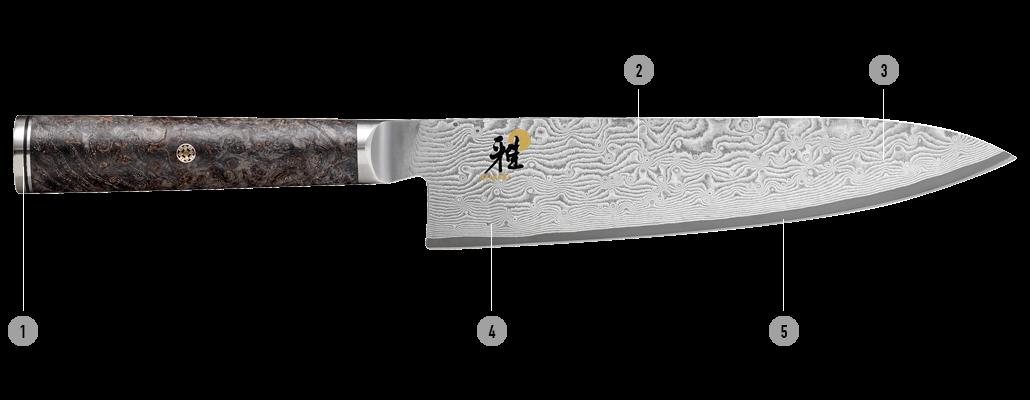 MIYABI Messer 5000MCD 67 Details
