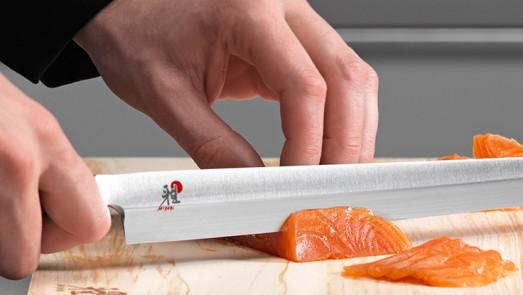 uso de los cuchillos MIYABI