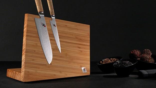 MIYABI Bloc de couteaux