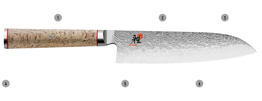 MIYABI knives 5000MCD Details