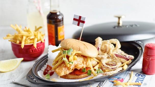 England Burger