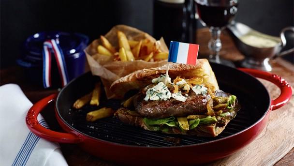 Frankreich Burger