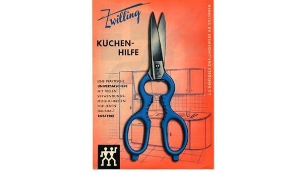 ZWILLING Werbung für Küchenhilfe Schere