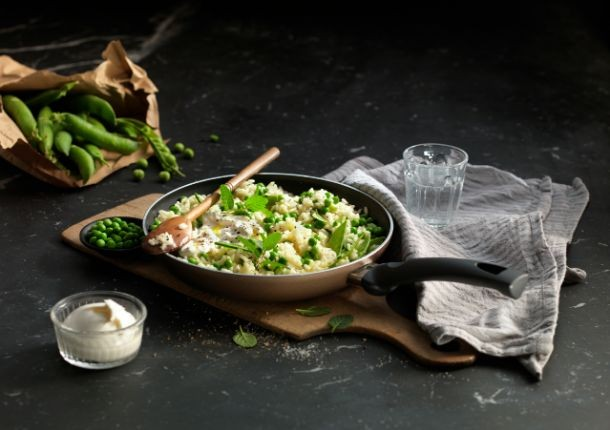 Ballarini_Recipe_Pea_Risotto_610x430