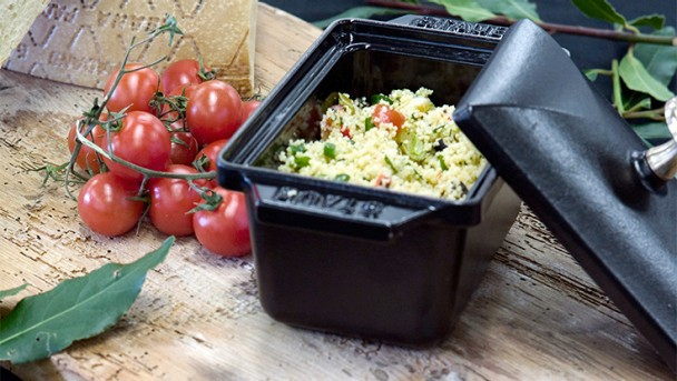 Mediterraner Couscous Salat