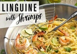 Linguine mit Shrimps