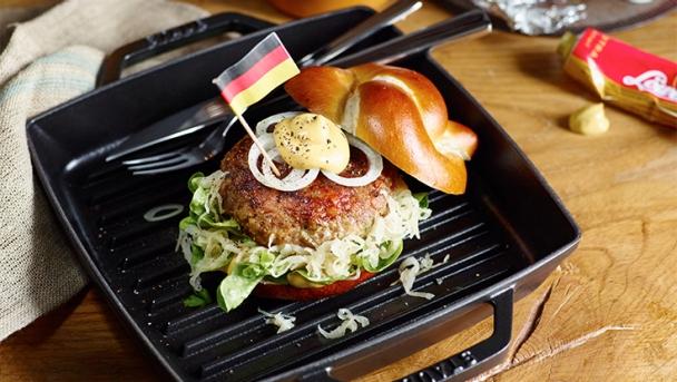 ZWILLING Promotion Fussball EM 2016 - Deutschland Burger