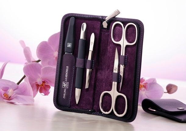 ZWILLING Beauty Manikür Etuis lila