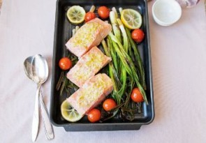 salmon-with-scallions-and-garlic-butter-358x249