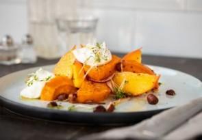 Suesskartoffel-Salat-mit-Haselnuessen-Kaki-und-Burrata_358x249