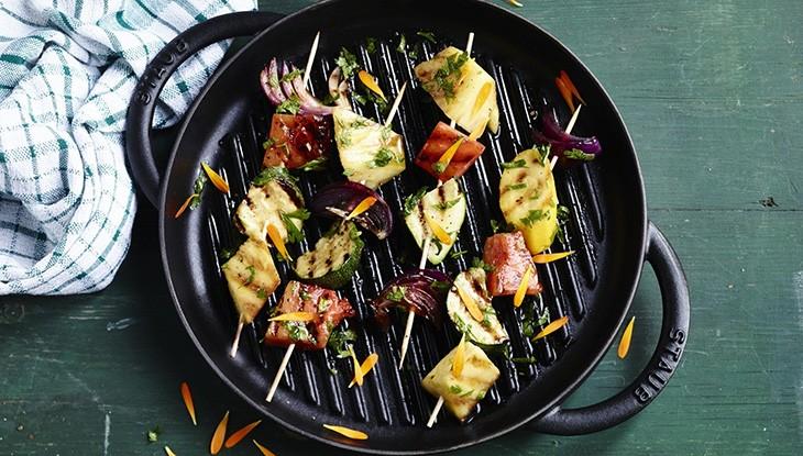 STAUB Cast iron grill pans