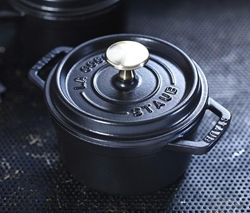 Schwarze Mini Cocotte