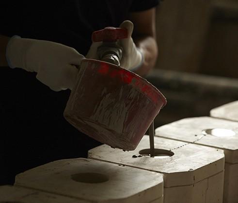 STAUB Keramik einfüllen