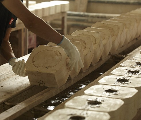 STAUB Keramik Produktion
