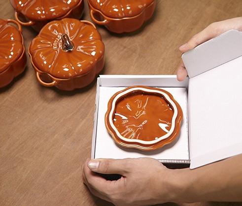 STAUB Keramik Kürbis Cocotte
