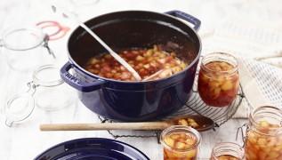 STAUB Rezept Pfirsich-Passionsfrucht-Marmelade