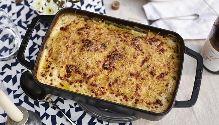 Rezept STAUB Kartoffel Gratin