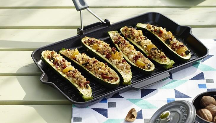 Rezept STAUB gefüllte Zucchini