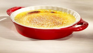 STAUB Rezept Crème Brûlée Zitrone Tonka-Bohnen