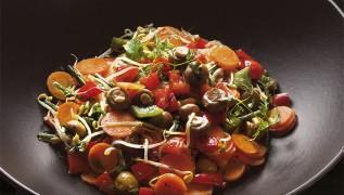 STAUB Rezept gemischter Salat