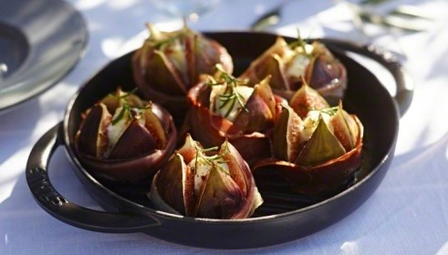 STAUB recipe Grilled figs