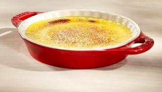 STAUB recipe Crème Brûlée Lemon Tonka Beans