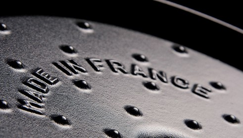 STAUB advantages of enamelled cast iron - drop structure