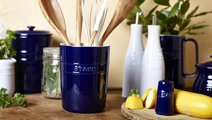 STAUB - cerámica - bote de utensilios de cocina