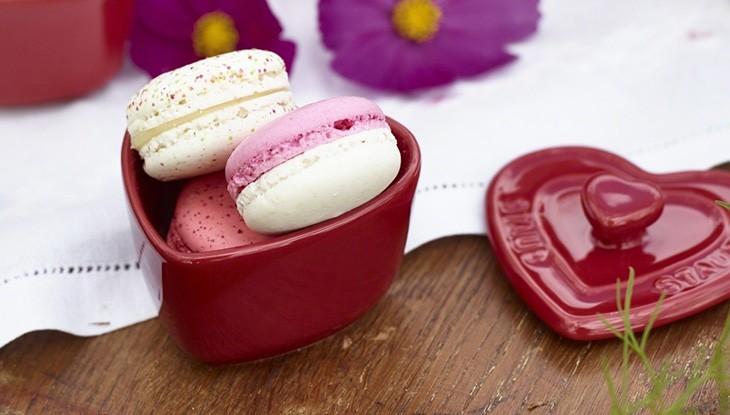 STAUB - cerámica - mini ramequin con forma de corazón