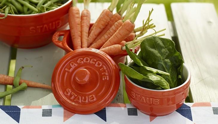 STAUB - cerámica - mini cocotte redonda