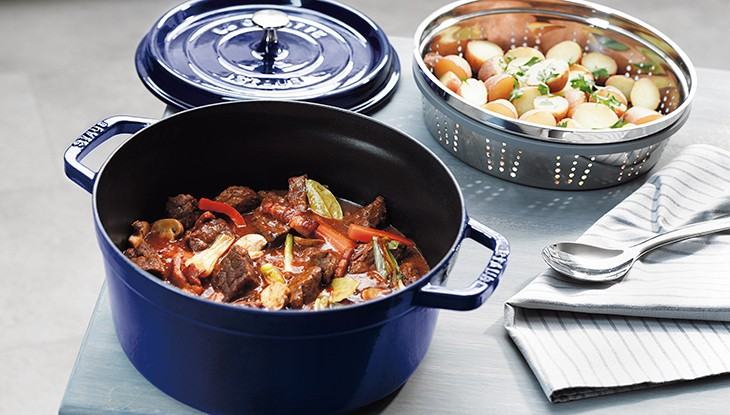 receta de cocina staub buey a la borgoña