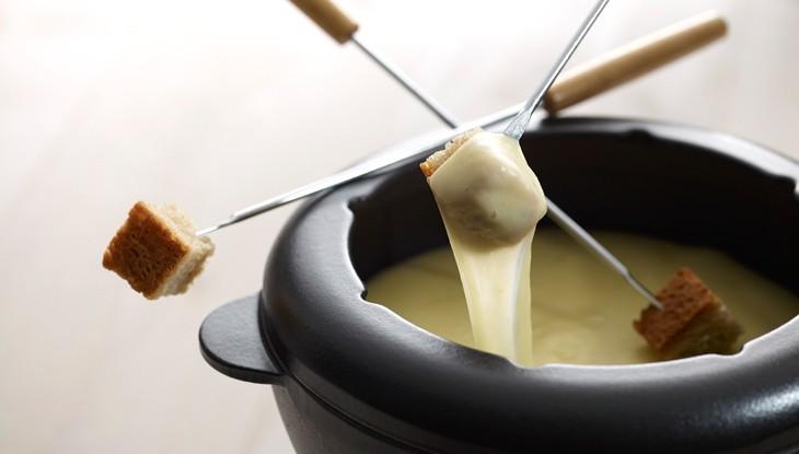 receta de cocina staub fondue de queso
