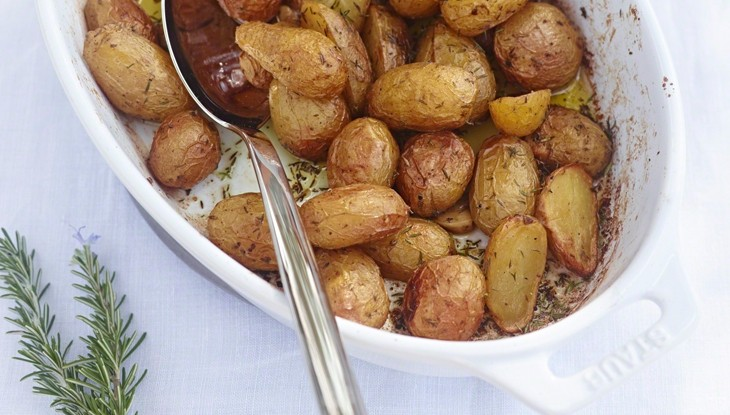 STAUB Recipe Roasted Potatoes