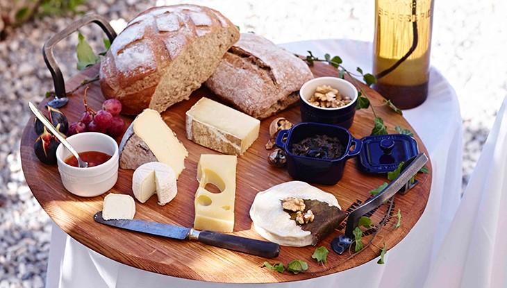 receta de cocina STAUB tabla de quesos