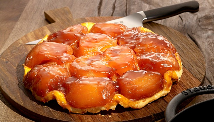 receta de cocina staub tarta tatin