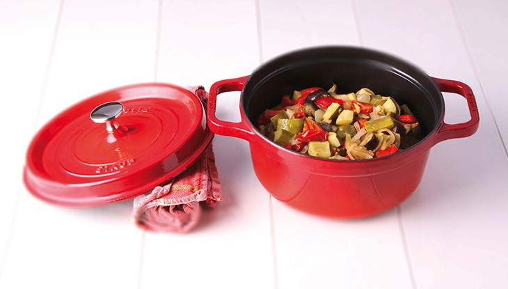 STAUB recipe Ratatouille