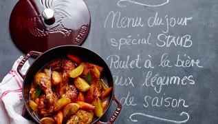 Staub Cocotte coq français