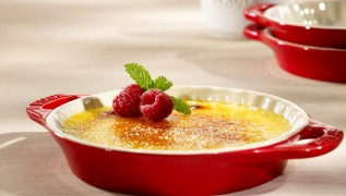 STAUB Recette crème brulée