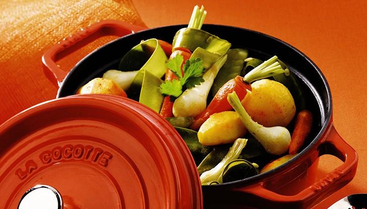STAUB Recette - Tajine de légumes primeurs