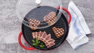 Staub Recette - Steaks de thon marinés, mayonnaise au miso