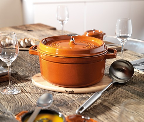 STAUB Benefits of enameled cast iron