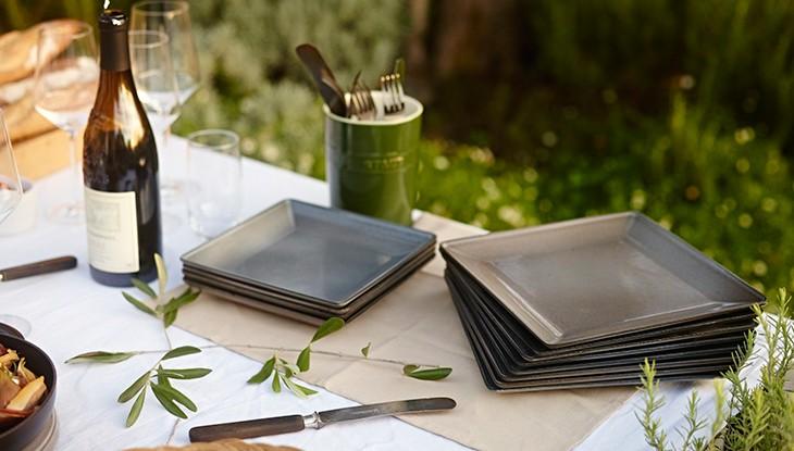 Deep plate, square - Series Serve