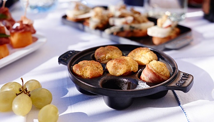 Snail Pan with 6 troughs - Serie specialties